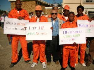 SOUTH AFRICA PRISONERS AGAINST TB