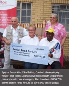 Bolton food for life, Zadza